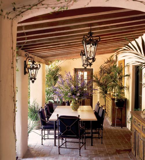 mediterranean outdoor lighting bring