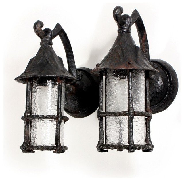 Victorian Solar Wall Lights