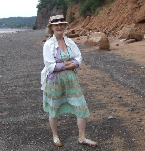 Mary-Colin Chisholm at Wasson's Bluff