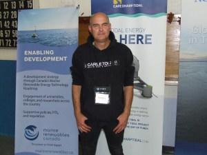 Dana Morin of Fundy Tidal Inc.