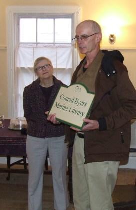 Conrad Byers and Harriet McCready
