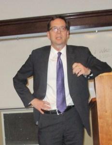 VP of Finance, Robert Inglis