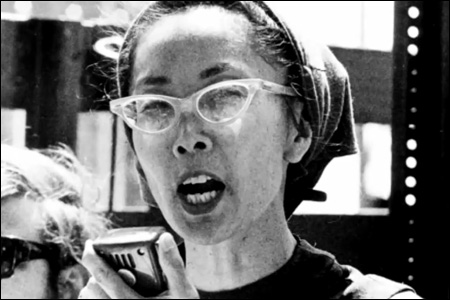 Yuri Kochiyama, a civil rights activist who formed an unlikely friendship with Malcolm X when he was still promoting black nationalism and later cradled his head in her hands as he lay dying from gunshot wounds in 1965