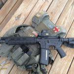 Customer WarBlock Standard Mid-Length Upper Duty rifle