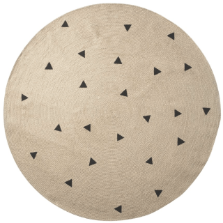 Ferm Living Round Triangle Rug
