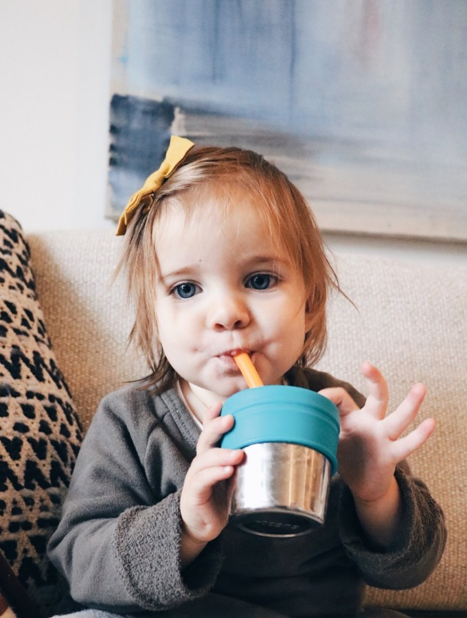 Ways to Pack Greens into Your Toddler's Diet + Green Smoothie Recipe