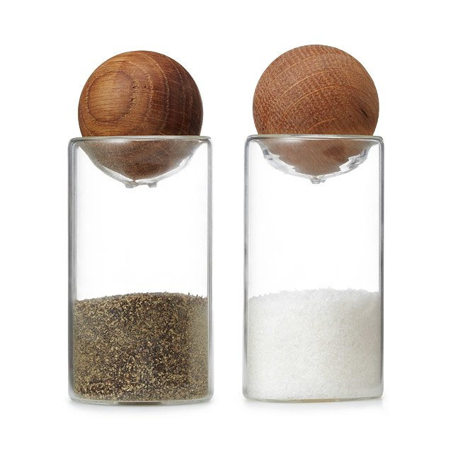 Sagaform Salt + Pepper Shakers