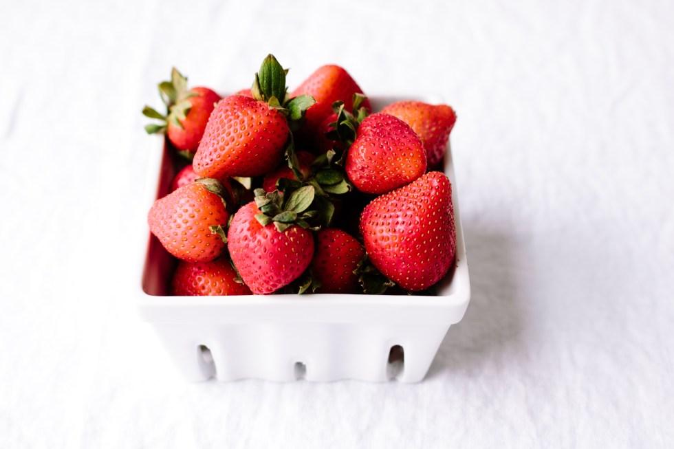 Strawberry Almond Olive Oil Cake — Grain-free + Dairy-free | warmandrosy.com