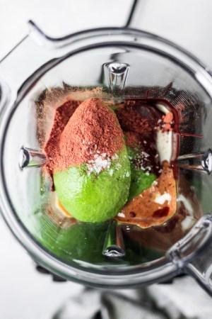 Salted Dark Chocolate Avocado Mousse — warmandrosy.com
