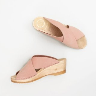 No.6 Frida Wedge Clogs