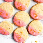 Blood Orange Cardamom Shortbread Cookies — warmandrosy.com