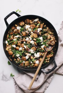 Quinoa with Sausage, White Beans and Kale — warmandrosy.com