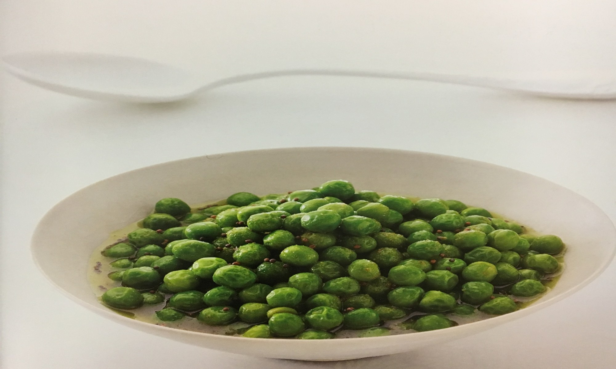 Cumin Infused Peas