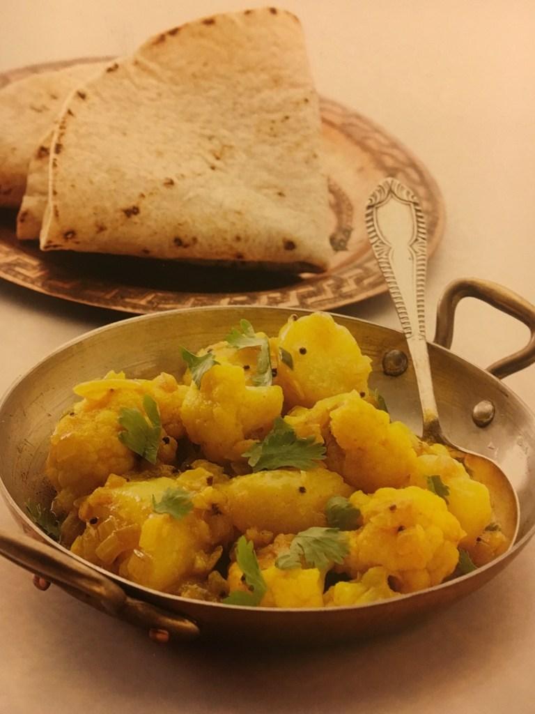 Potatoes with Cauliflower