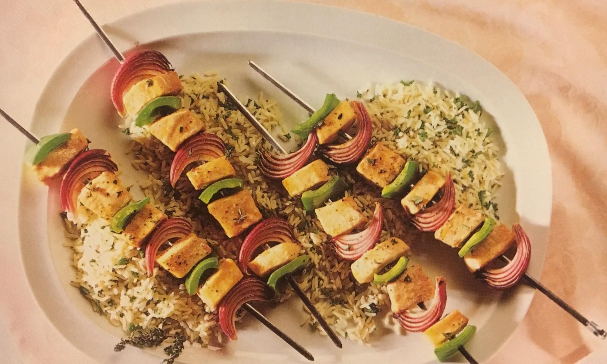 Swordfish Brochettes