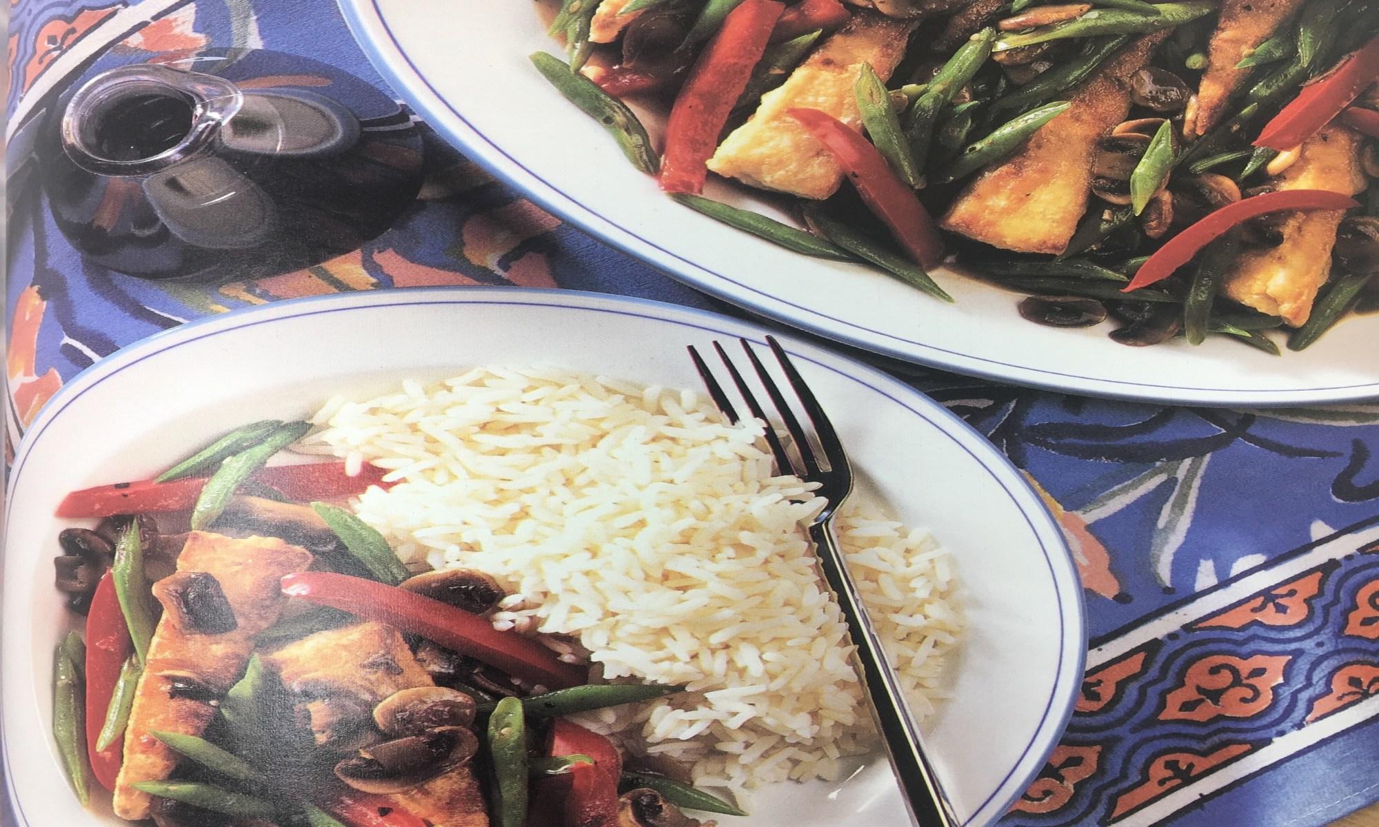 Tofu with Stir Fry