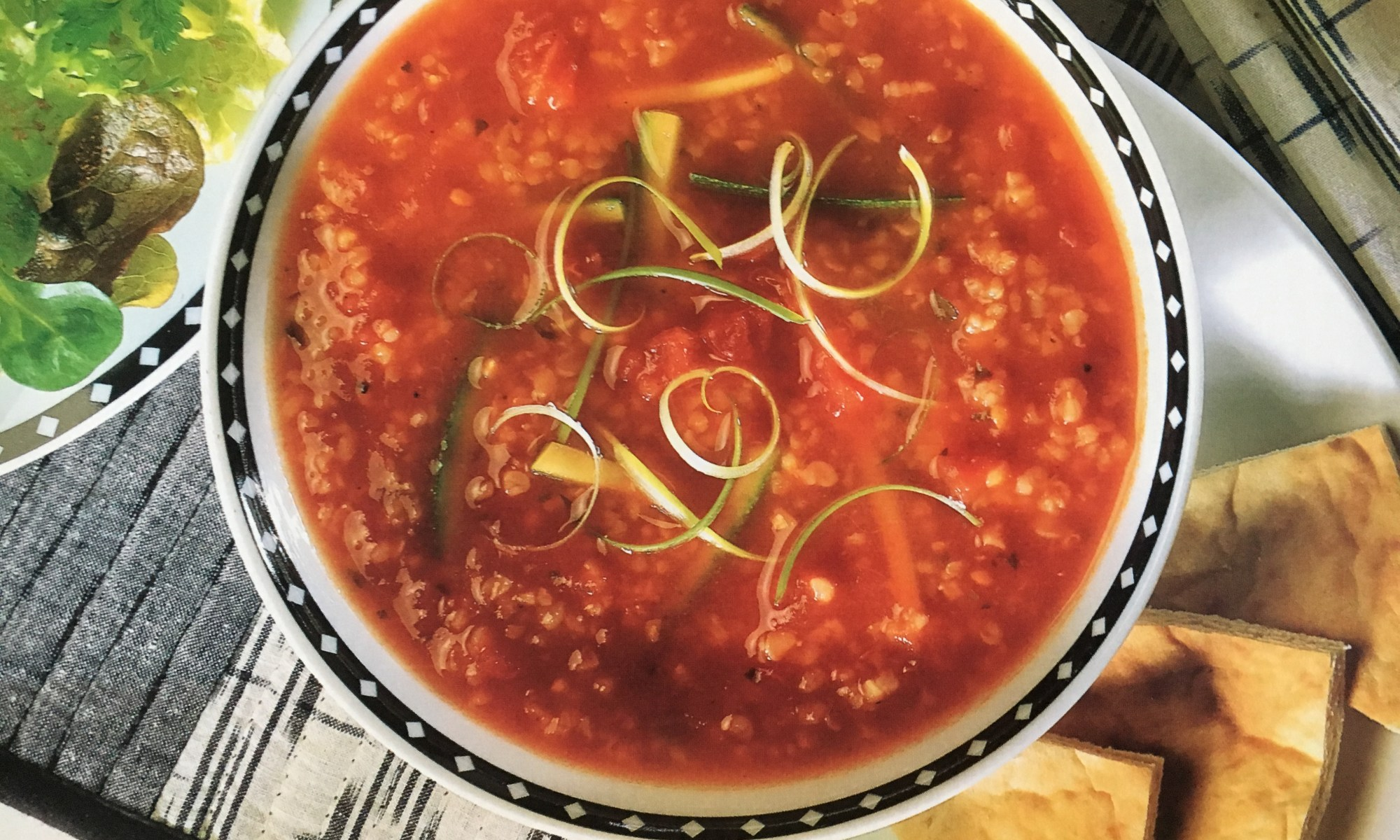 Middle Eastern Tomato Soup