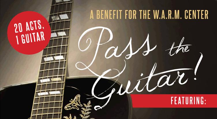 Pass the Guitar BENEFIT