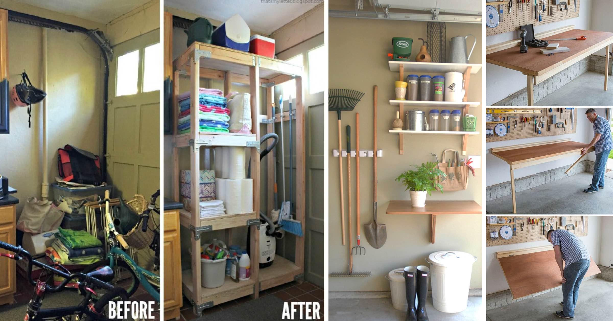19 Innovative Garage Organization Ideas That are Versatile ... on Organized Garage  id=13870