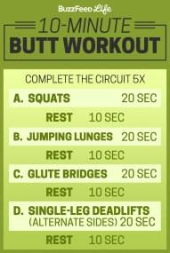 butt workout 2