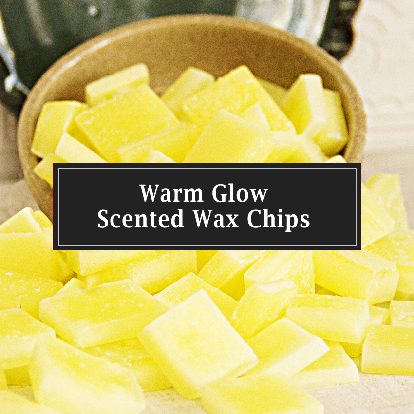 Warm Glow Scented Wax Chips
