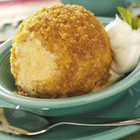 Cinnamon Fried Ice Cream 3 Pack Votive Candles