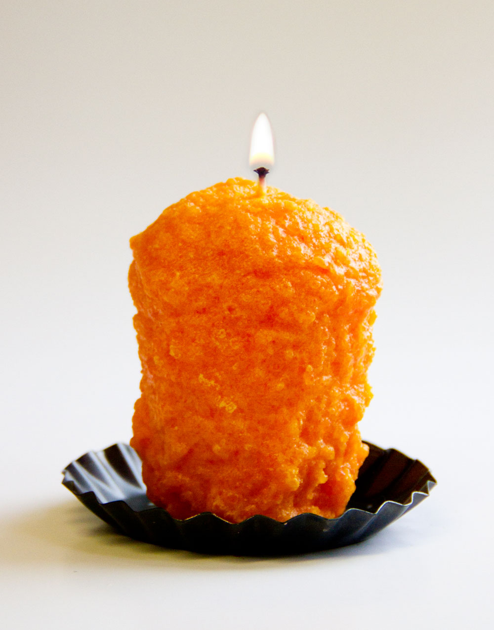Orange Cranberry Oversized Votive