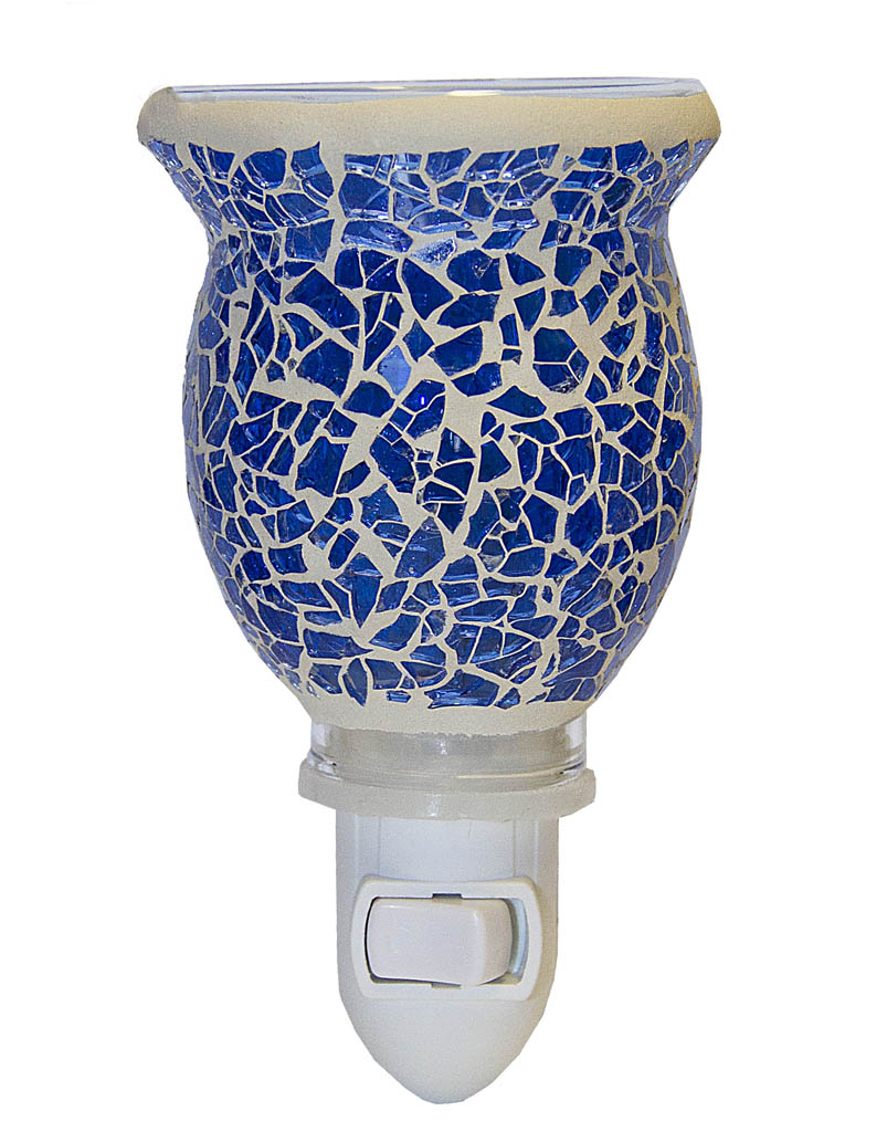 Mosaic Plugables™ Fragrance Vase – Blue