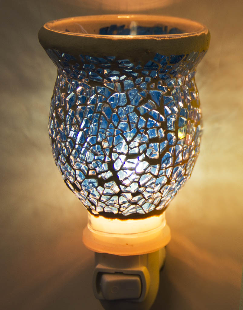 Blue Mosaic Plugables™ Fragrance Vase