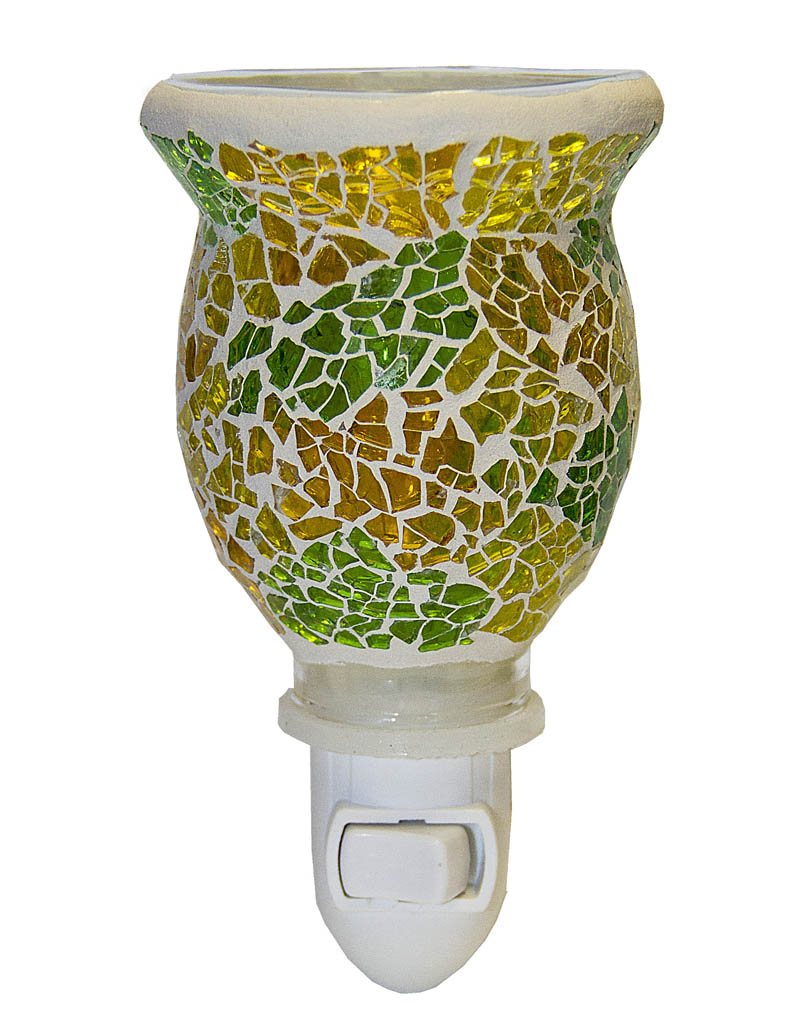 Multi-Color Mosaic Plugables™ Fragrance Vase