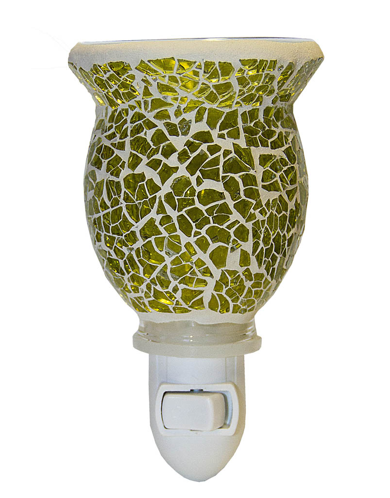 Green Mosaic Plugables™ Fragrance Vase8iiu