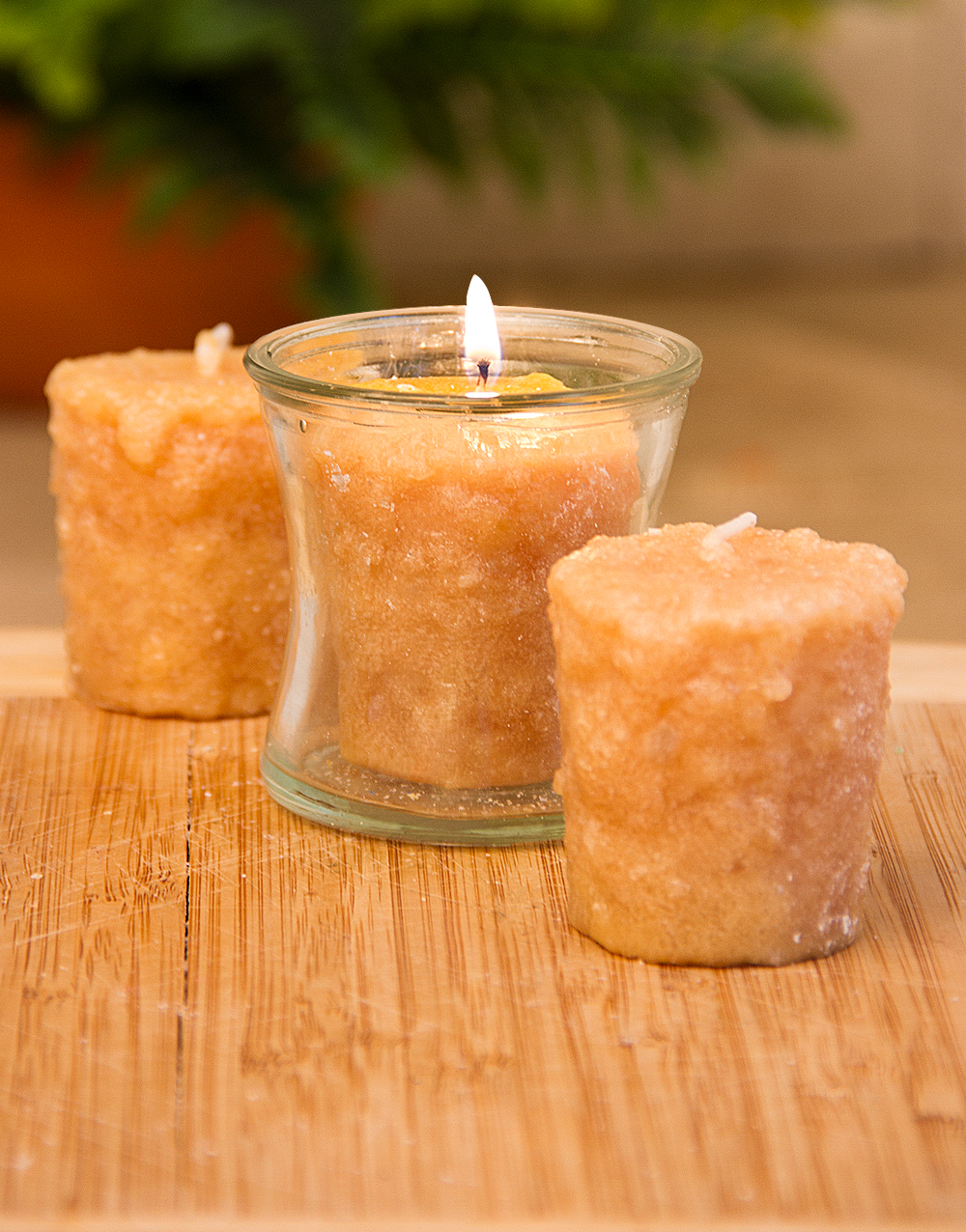 Belgian Pecan Waffle 3 Pack Votive Candles
