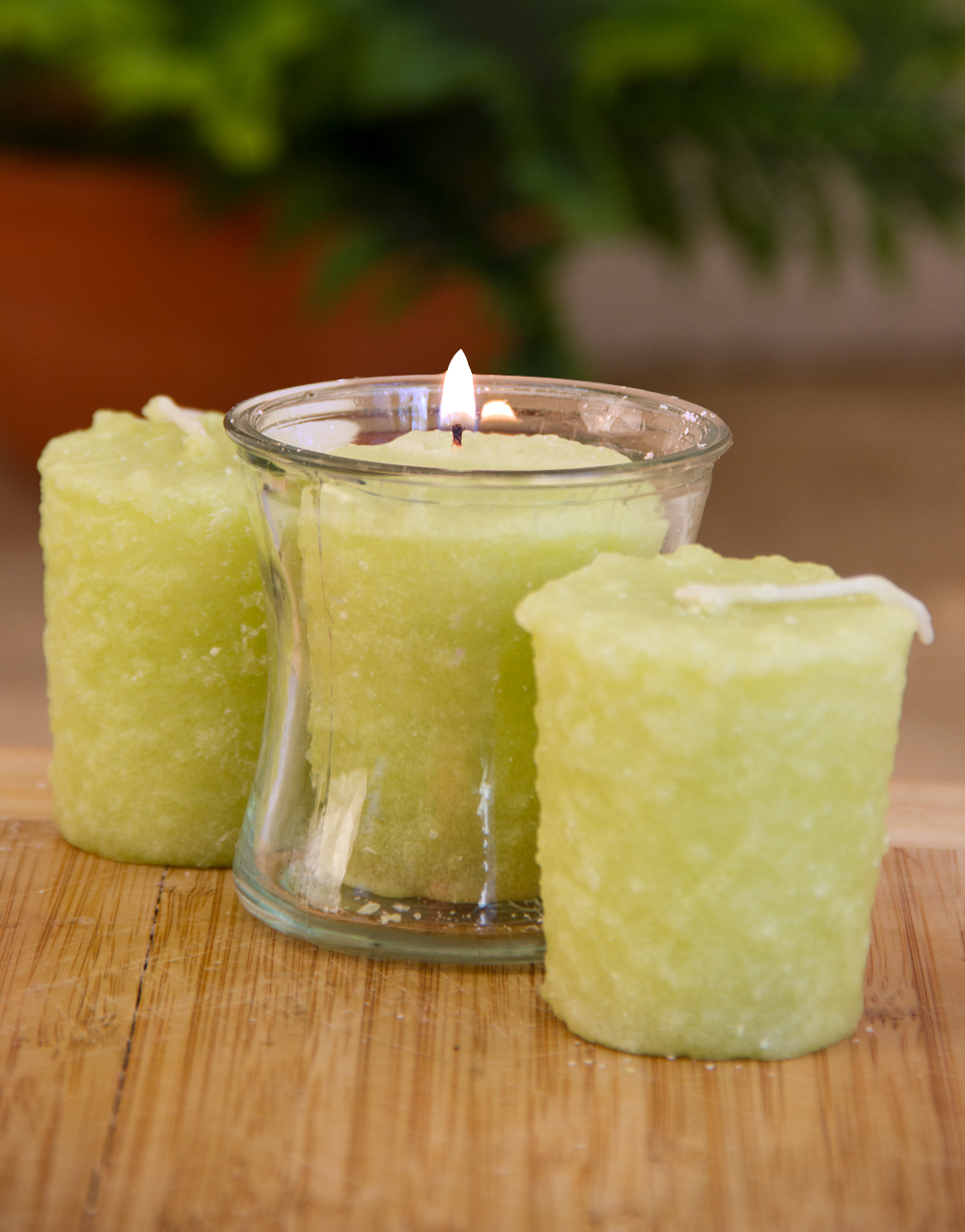 Lime Margarita 3 Pack Votive Candles