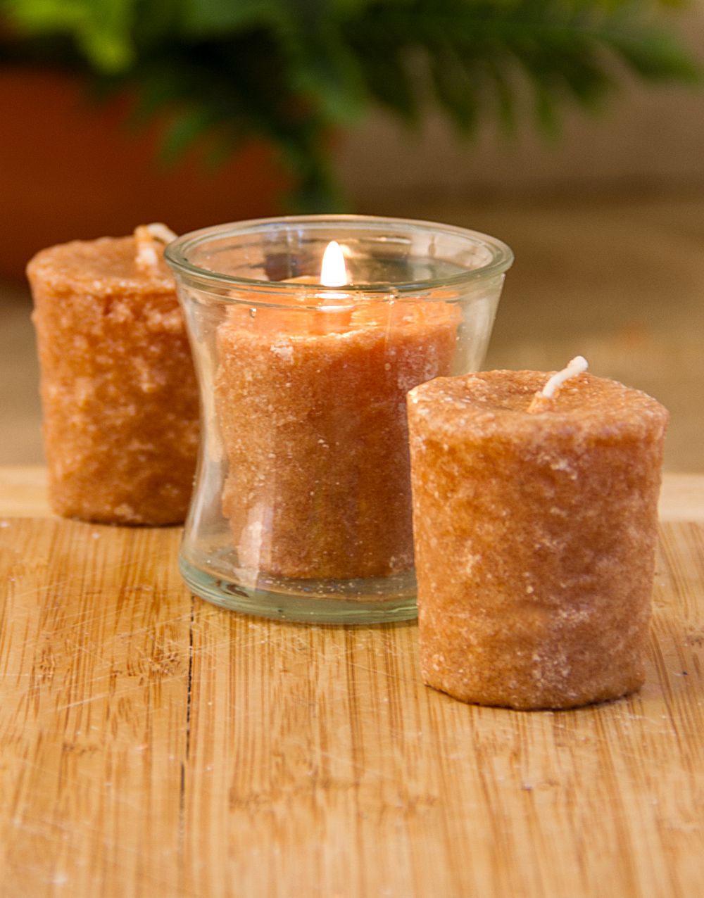 Oatmeal Raisin Cookie 3 Pack Votive Candles