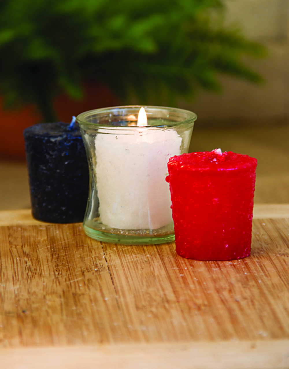 Peace 3 Pack Votive Candles