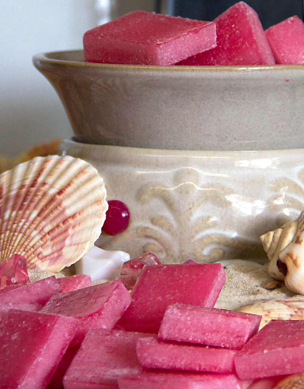 Pink Coral Warm Glow Scented Wax Chips