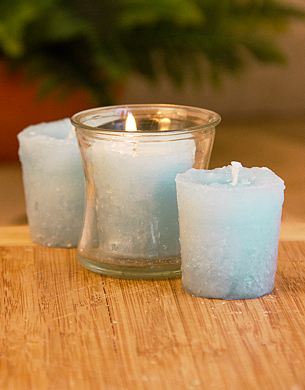 Pure Paradise 3 Pack Votive Candles