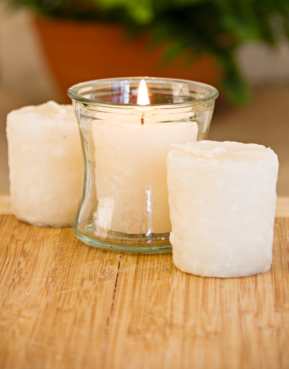 Vanilla Custard 3 Pack Votive Candles