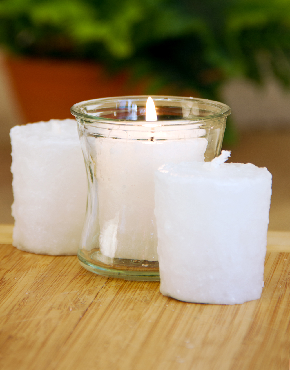 Vanilla Stardust 3 Pack Votive Candles