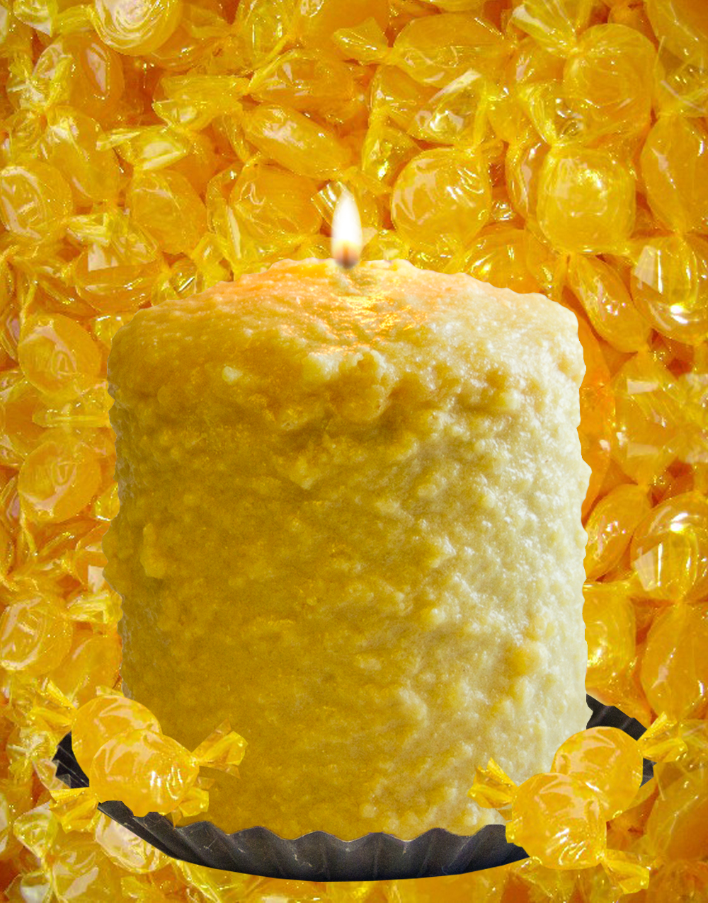 Butter Rum Hearth Candle