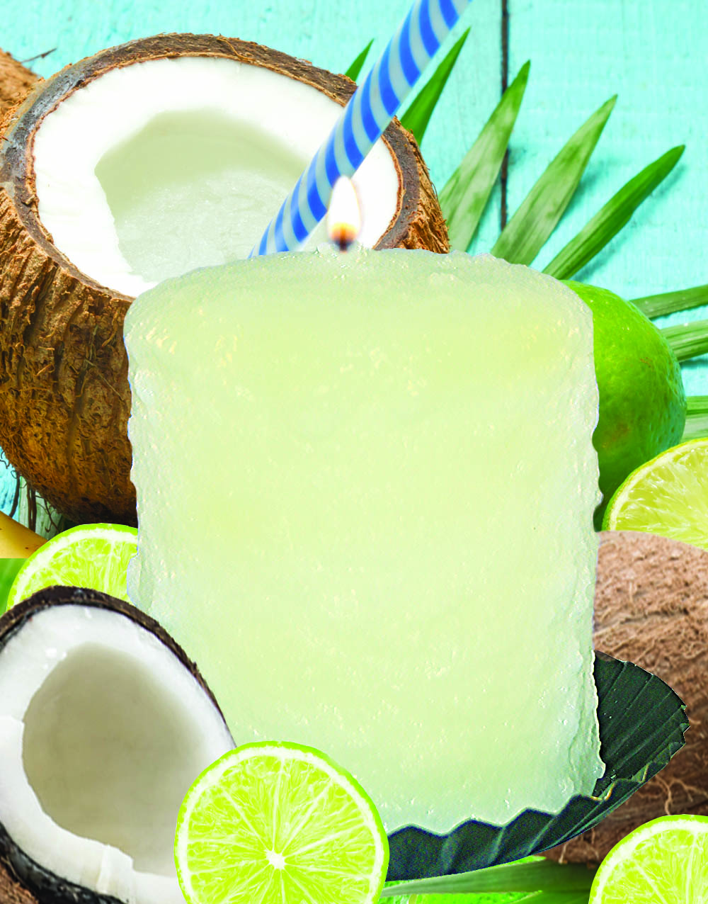 Lime In Da Coconut Hearth