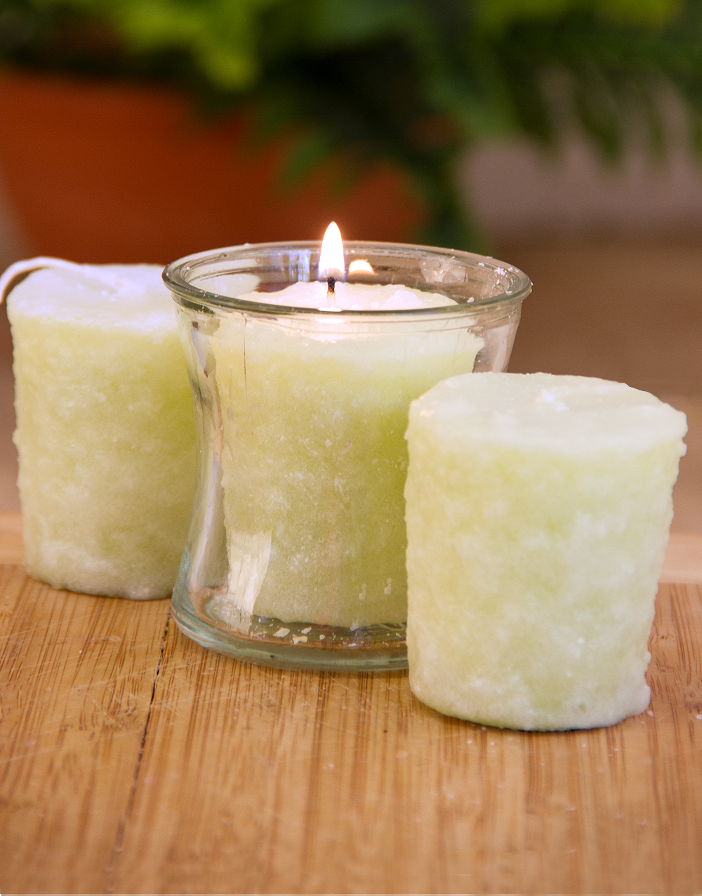 Lime In Da Coconut 3 Pack Votive Candles