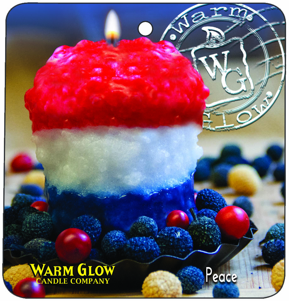 Car / Air Freshener Peace (Blueberry Cobbler)