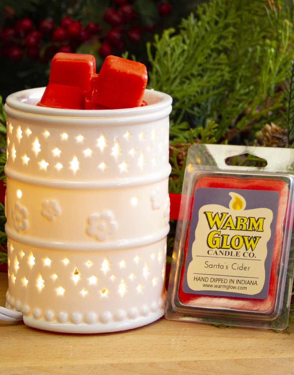 White Starlight Warmer