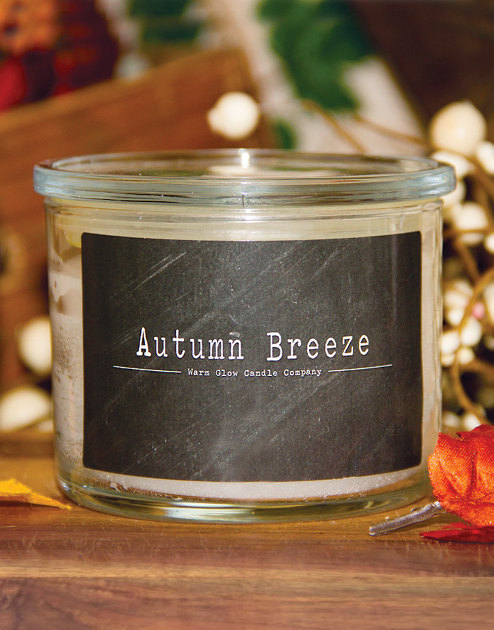 Autumn Breeze Jar Candle