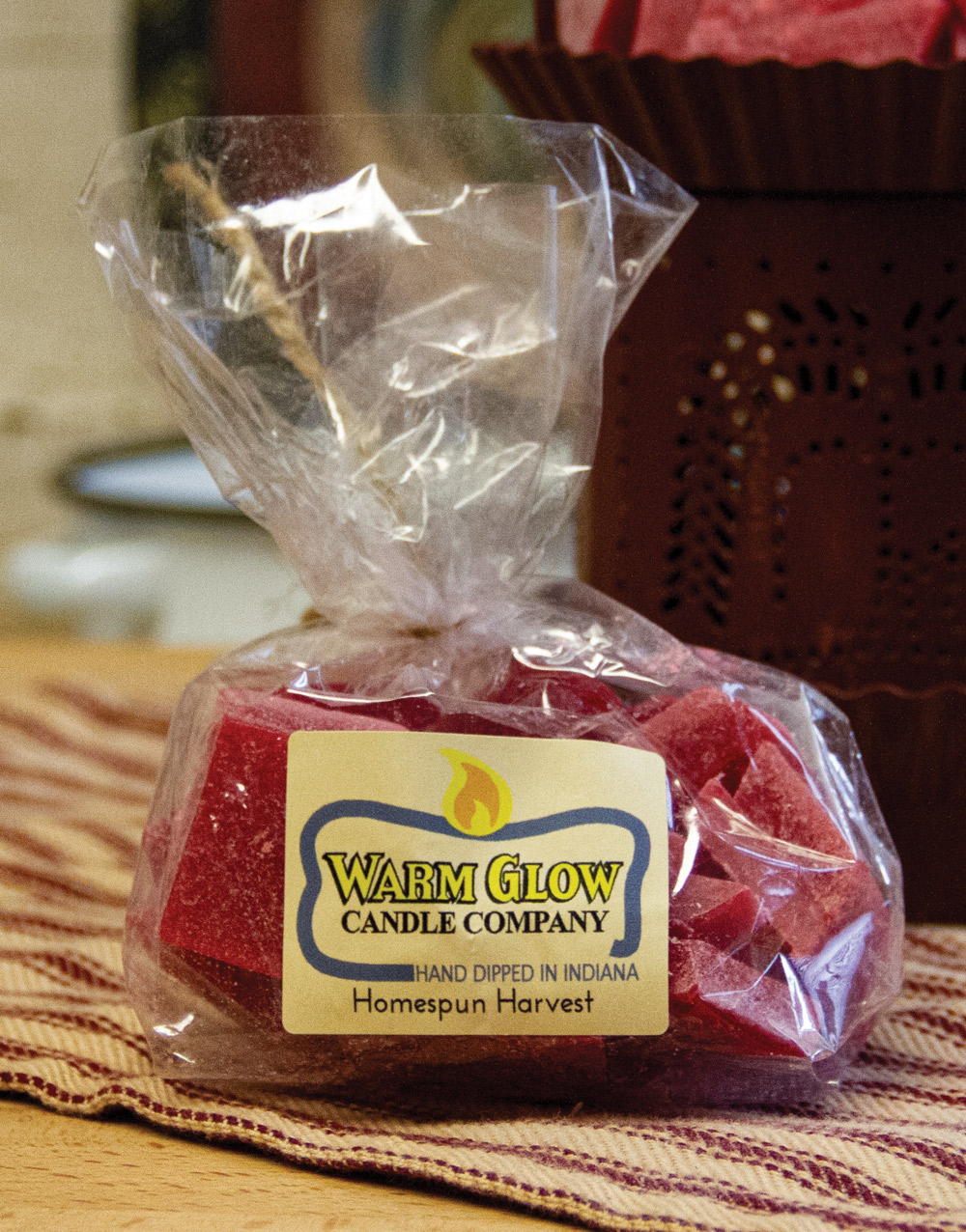 Homespun Harvest Warm Glow Scented Wax Chips