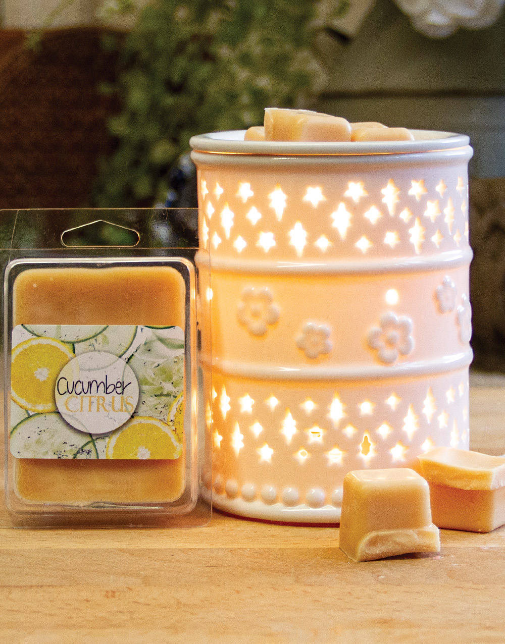 Aurora Scented Melts – Cucumber Citrus