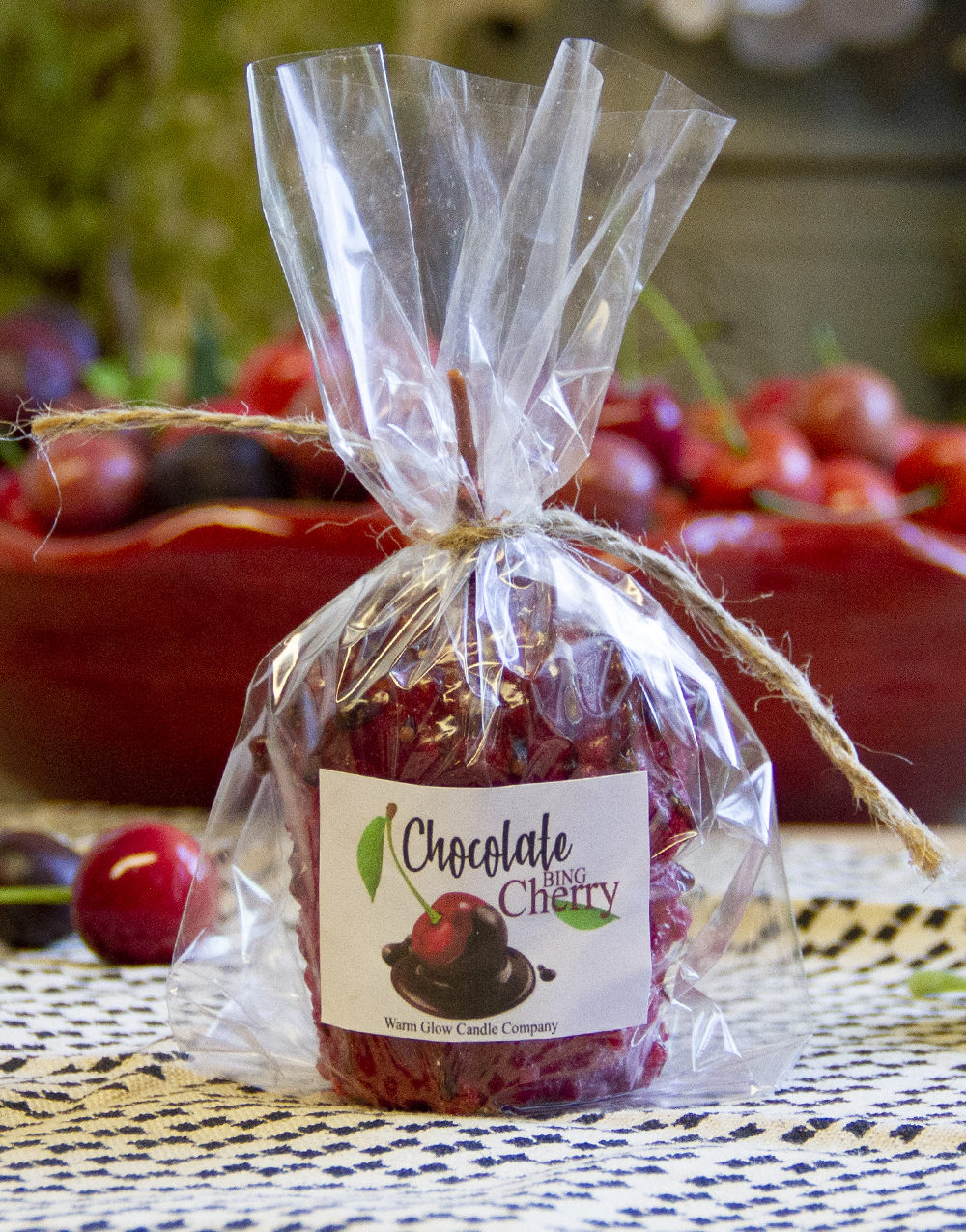 Limited Edition Oversize Votive Chocolate Bing Cherry