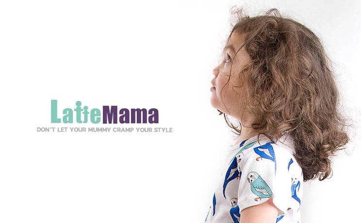Latte Mama children's fashion shoot