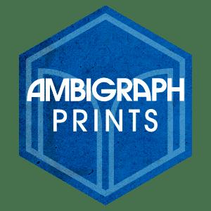 New Ambigraph print shop